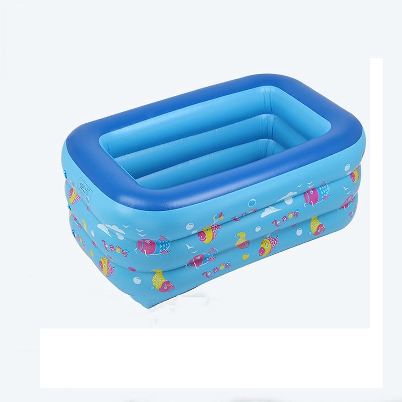 Aufblasbare Badewanne Baby Kinder Pool Multi-Layer-aufblasbare Badewanne Garten Freibad spielen Pool Planschbecken