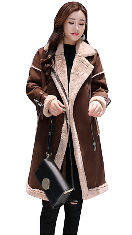 美しいです] ムートンコート レディース 毛皮 裏ボアコート ロング丈 チェスターコート 厚手 モコモコ パーカー 切り替え 暖かい 防寒
