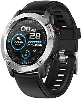 smartwatch męski smartwatch IP68 wodoodporny sportowy smartwatch fitness tracker pulsometr do Androida iOS pełny ekran dot...