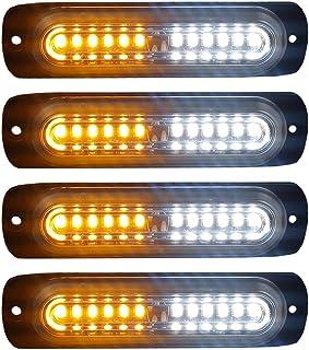 10 x 3mm Blue Red Alternating Flashing LED 1.5Hz Super Bright Light Police Cars