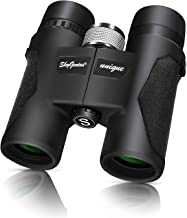 SkyGenius 8X32 Compact Lightweight Quality Binoculars for Bird Watching with Clear Wide Vision, Easy to Focus. Great for Adults Kids Hunting Wildlife Watching Sporting Events Travel Concerts(1.05lb)