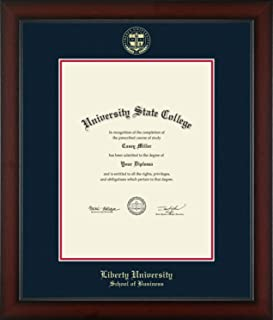 Best liberty university masters diploma size Reviews