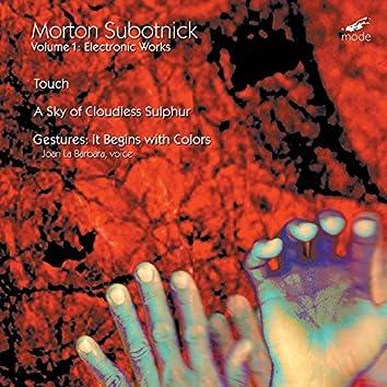 Subotnick: Electronic Works, Vol. 1