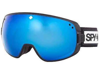 Spy Optic Bravo (Matte Black HD Plus Rose w/ Dark Blue Spectra Mirror) Snow Goggles