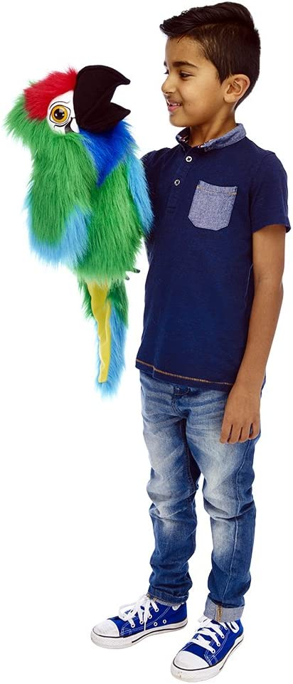 The Ranking TOP1 Puppet Company Large Birds Sales 18 Hand in Military Macaw