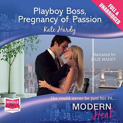 Playboy Boss audiobook cover art