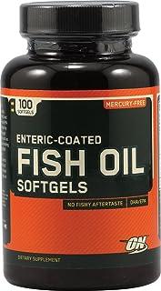 OPTIMUM NUTRITION Fish Oil, 100 Softgels (Pack of 3)