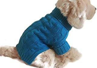 Best dog cable knit sweater Reviews