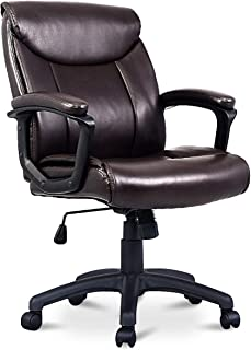 Best chocolate leather office chair Reviews