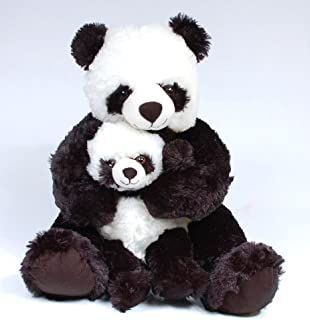 "uni 18"" Mommy and Baby Panda Plush"