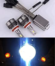 Super Bright Harley Headlight Dual-bulb LED Kit for Street Glide,Road King or CVO With 2 Bulb Headlight