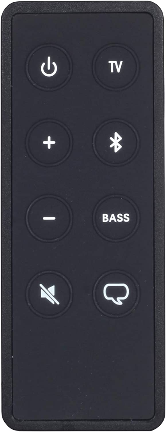 DHCHAPU Universal Remote Control Compatible with Bose Solo 5 10 15 Series ii TV Sound System 732522/418775/431974 and TV Speaker