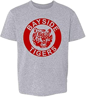 Bayside Tigers 90s Retro Halloween Costume Toddler Kids Girl Boy T-Shirt