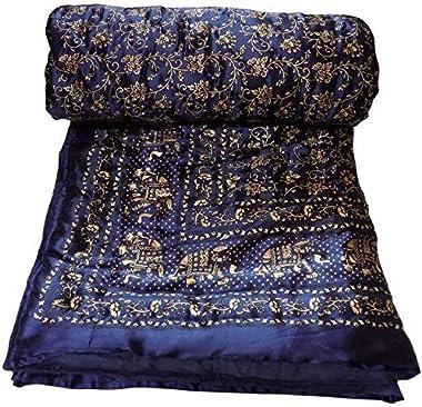 Gulmohar Quilts- Premium Organic Cotton Handmade Lightweight Quilts