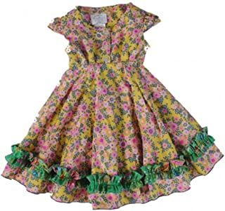 Dew Drops Couture Little Girl's Beautiful Vintage Doll Dress (size 4)