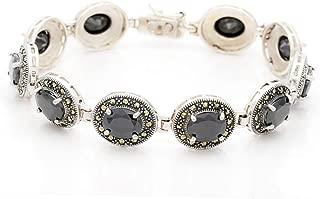 Lidya Essentials Bracelet 925 Real Marcasite Sterling...