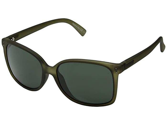 VonZipper Castaway (Forest Satin/Grey/Green) Sport Sunglasses
