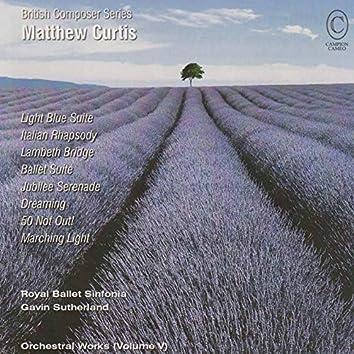 Matthew Curtis Orchestral Works, Vol. V