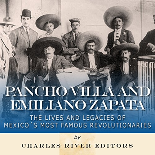 Pancho Villa and Emiliano Zapata audiobook cover art