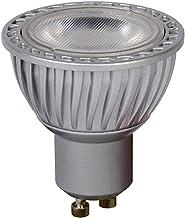 Lucide LED BULB - LED lamp - Diameter 5 cm - LED Dimb. - GU10 - 3x5W 3000K - Grijs, 1 x 1 x 5.5 cm