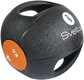 Sveltus balón Medicinal 4 kg con Asas: Amazon.es: Deportes y aire ...