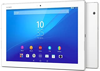 Sony Xperia Z4 Tablet - 10.1 Inch, 32GB, Wifi, 4G LTE (White)