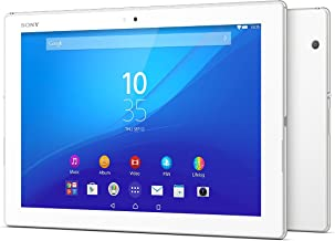 Sony Xperia Z4 Tablet SGP771 32GB 10.1-Inch LTE Factory Unlocked Tablet (White) - International Version No Warranty