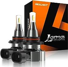 SEALIGHT 9140 9145 H10 LED Fog Light Bulb LED Bulb 5600lm 6000k Extremely Bright Xenon White, Halogen Fog Light Bulb Replacement(pack of 2)