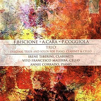 Trio (Original Trios and Solos for Piano, Clarinet and Cello)