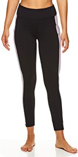 Gaiam Women's High Waisted 7/8 Yoga Pants - Performance Compression Workout Leggings