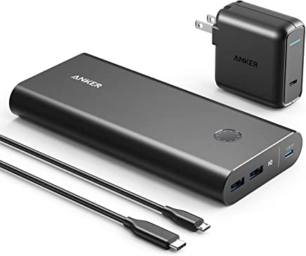 Anker PowerCore+ 26800 PD with 30W Power Delivery...