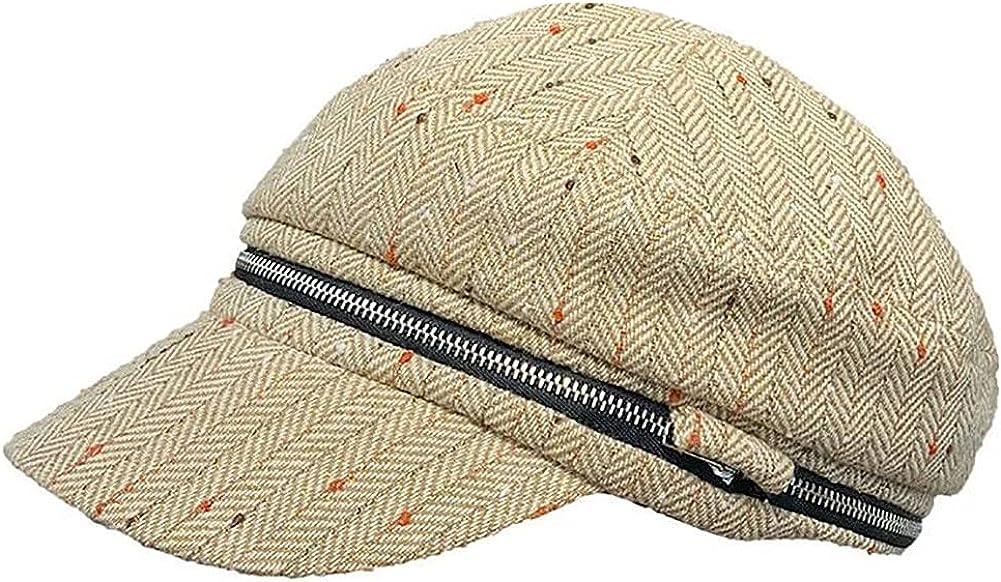 Women Fall Fiddler Newsboy Cap Bakerboy Cabbie Gatsby Pageboy Visor Beret Hat