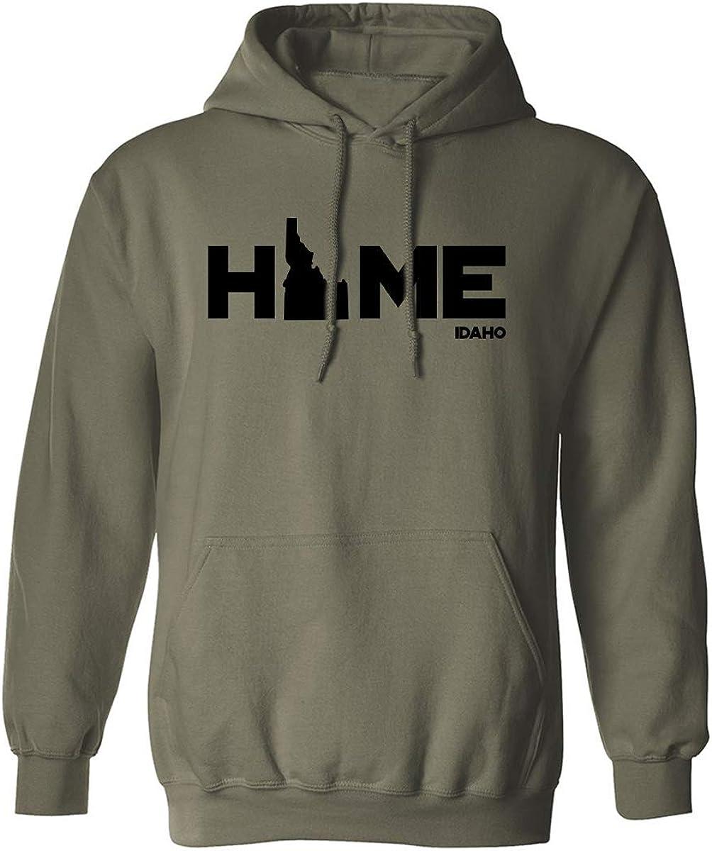 zerogravitee Idaho Home Adult Hooded Sweatshirt