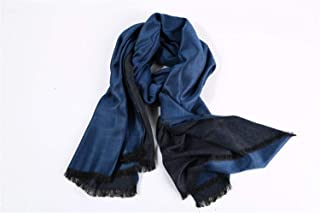 NJTSXLM Scarf Men 2020 Fashionable Tassel British Winter Scarves Stitching Winter Warm Scarves Shawl (Color : Navy, Size : One Size)