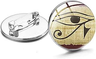 Amuleto Simbolo Distintivi Spille Sui Vestiti Cupola Di Vetro Spille Vintage Accessori Donna Uomo Regali