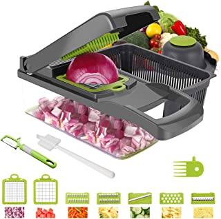 Vegetable Chopper Yibaision Mandoline Slicer Dicer For Fruits Vegetables, Professional Onion Cutter Vegetable Dicer Food Chopper For Salad, The Best Kitchen Accessories The Latest Version