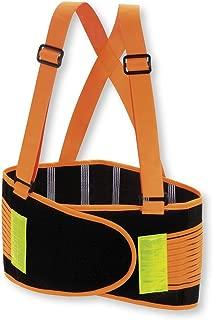 Valeo Industrial VHO8 High Visibility Back Support Lifting Belt, VI9353, Orange, XL