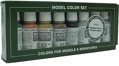 70102 Model Colour Folkstone Specialist 16 Colour Acrylic Paint Set