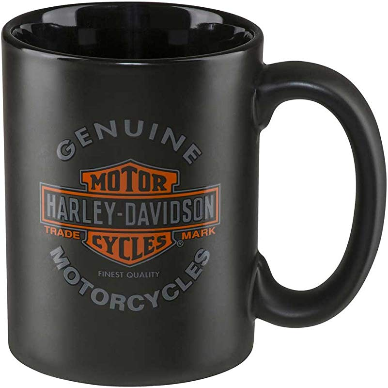 Harley Davidson Core Genuine Motorcycles Coffee Mug 15 Oz Black HDX 98606