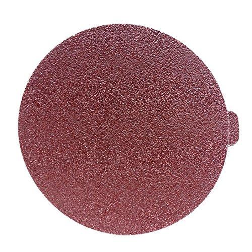 SINYUM Self Stick 10 PCS 10-Inch NO-Hole PSA Aluminum Oxide Sanding Disc 5 Each of 100 180
