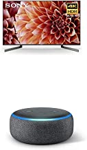 $1148 » Sony XBR55X900F 55-Inch 4K Ultra HD Smart LED TV with Alexa Compatibilityand Echo Dot (3rd Gen) - Smart Speaker with Alexa - Charcoal