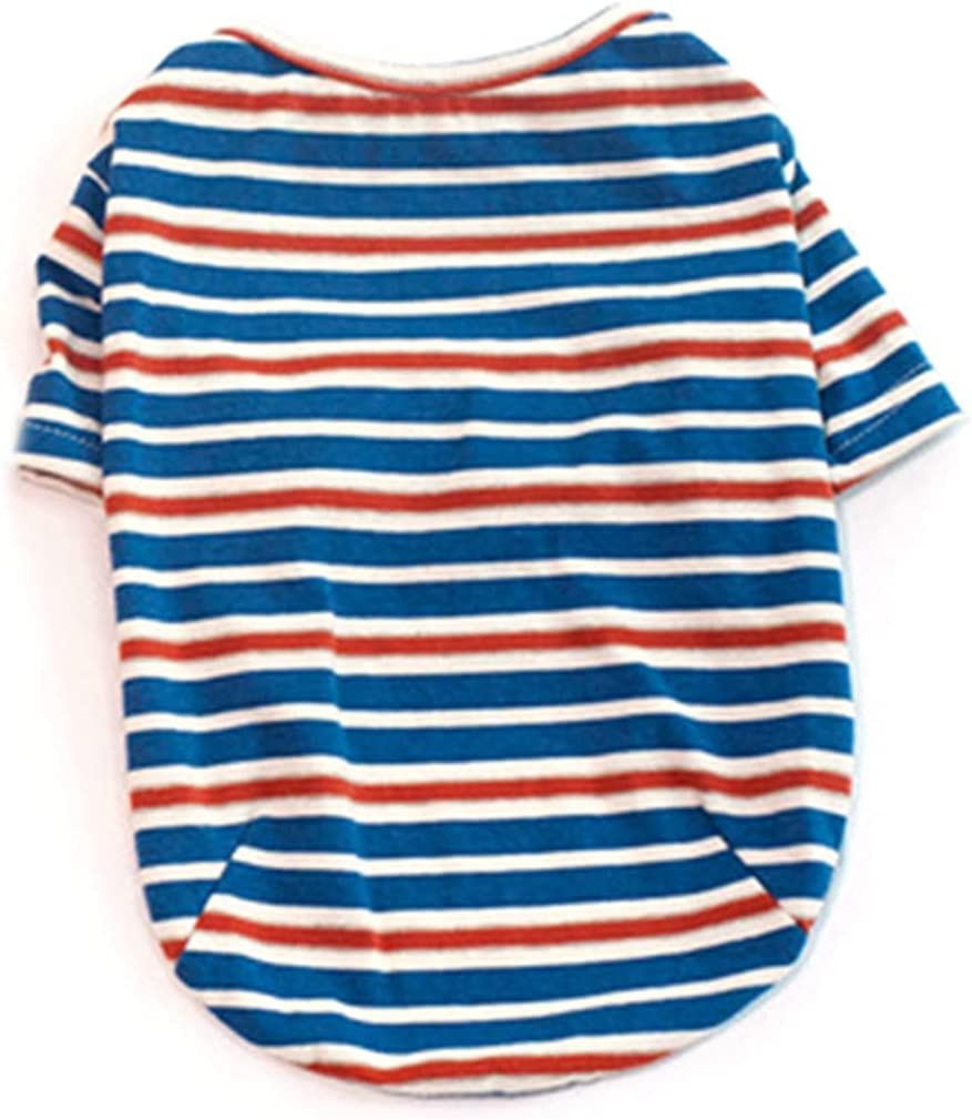 Max 68% OFF WEIGUO Same day shipping Cotton Cat Pet Clothes Was Comfortable T-Shirt Casual Tee