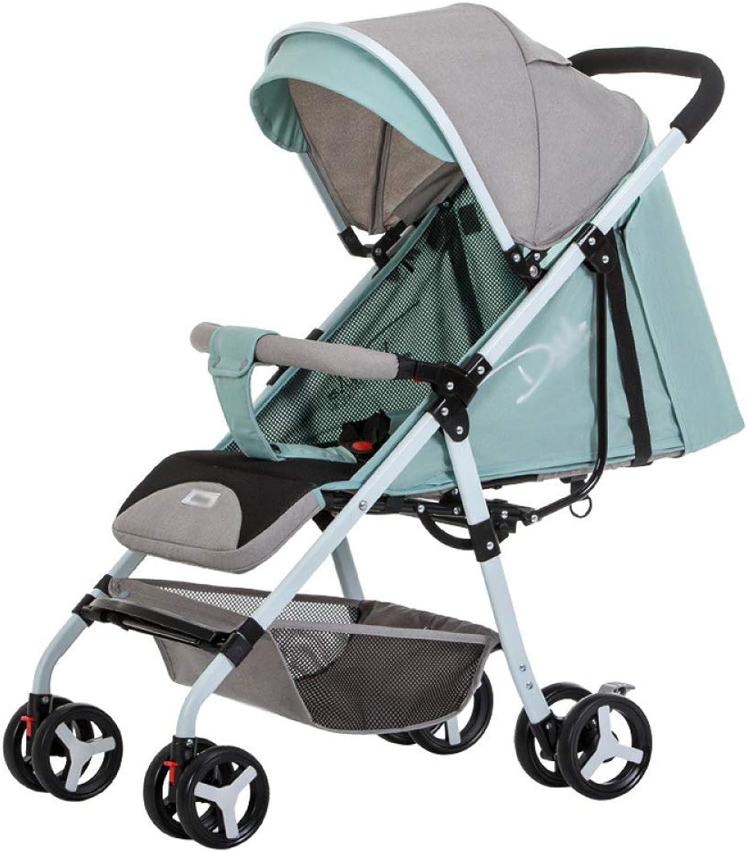 grandes ofertas XCJ XCJ XCJ CZZ Cochecito, Ultraligero, Puede Sentarse reclinable, Paraguas de bebé, Amortiguador Plegable, Cochecito de bebé recién Nacido,A,Cochero  ventas en línea de venta