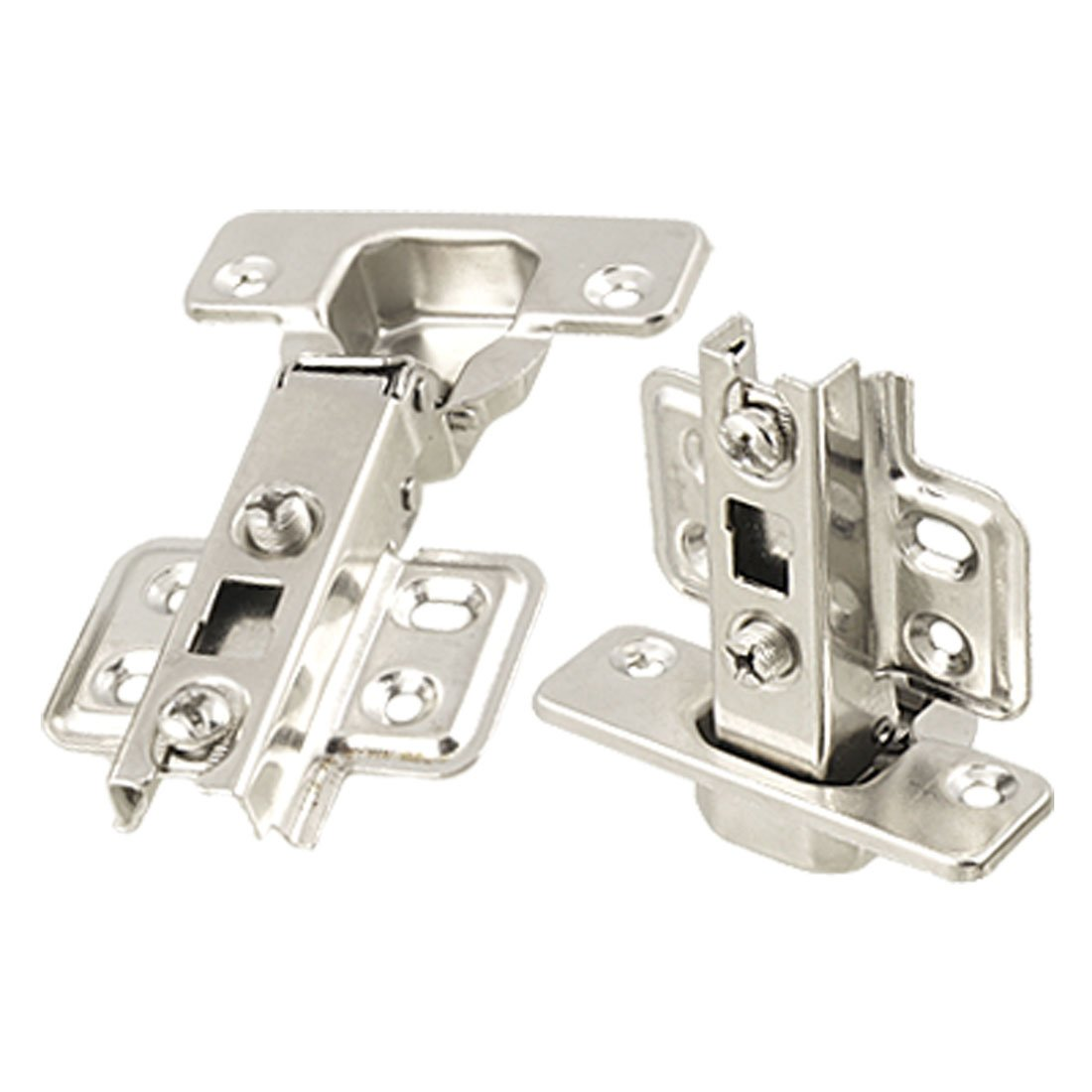 uxcell online shopping A11112500ux0531 Stainless Steel 2021 spring and summer new Hinge Cabinet Door Concea