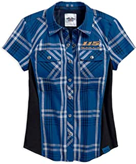 Harley-Davidson Women's 115th Anniversary Limited Edition Plaid Shirt 99046-18VW