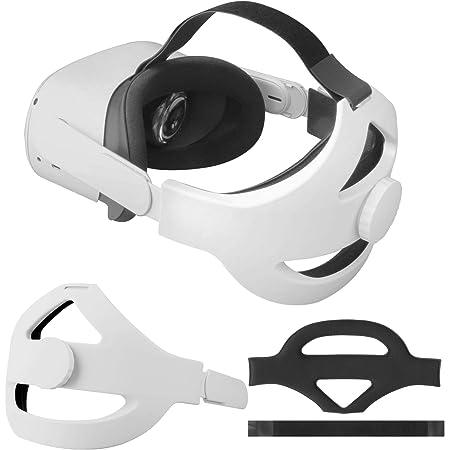 Cinghia per la Testa per Auricolare Oculus Quest 2 Sostituzione della Fascia per la Testa per la Cinturino Elite per Oculus Quest 2 Ridurre la Pressione della Testa Accessori per Oculus Quest 2 VR