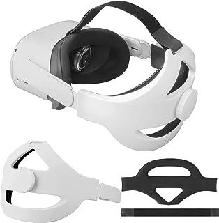 Sangle de Tête pour Casque Oculus Quest 2 Remplacement de Bandeau pour Sangle Elite Oculus Quest 2 Réduisez la Pression de...