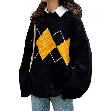 Fiote Damen Sweatshirt Bing Angel Alphabet und Amerikanische Flagge Vintage-Stil