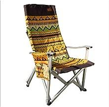 LGFV-Silla De Camping Silla Plegable de Exterior Silla de Playa de Verano Lazy Beach Silla Plegable Portátil Respaldo con Reposabrazos Adecuado para Uso en Interiores Y Exteriores