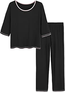 Best 3/4 sleeve pajama sets Reviews